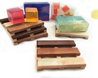 20 modified Soap Pallet soap dishes - 1.50 each - handcrafted from reclaimed wood - made in Portland, Oregon