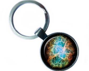 NASA Photograph Galaxy Magic Keychain Keyring