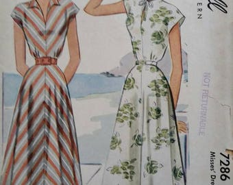 Vintage McCall's sundress pattern
