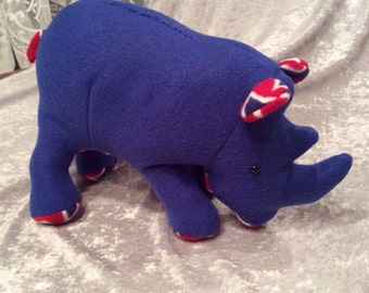 Royal Blue Rhino