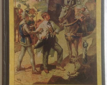 A Connecticut Yankee in King Arthur's Court, Mark Twain, Henry Pitz Illustrations, Gift Edition, Hardcover, 1917