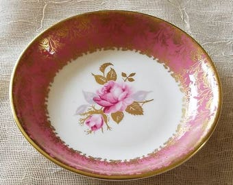 "Charming Little Plate or Trinket Dish by ""Aynsley"" England!"
