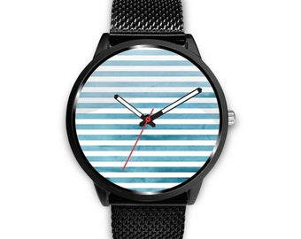 Stainless Steel Mesh Women Watch - Minimalist Women Watch - Leather Men Watch - Ladies Watch - Unisex Watch - Gift for Her - Gift for Him