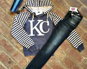 Striped KC Hoodie