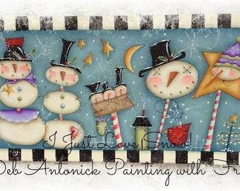 I Just Love SNoW! by Deb Antonick, email pattern packet