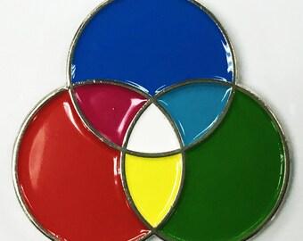 RGB Photography Artist Designer Printer Enamel Lapel Pin