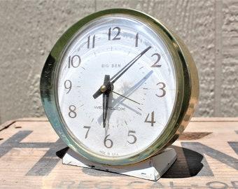 Vintage 1960's Westclox Big Bend Alarm Clock