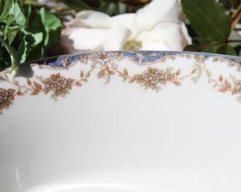 oval serving dish, Hotel dish, Hotel Brentton Hall, Hotel ware ,New York Hotel dinnerware