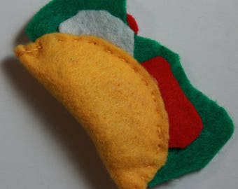 Taco Catnip Toy