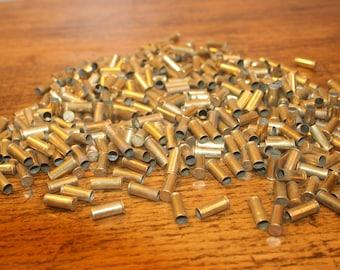340 pieces,22 bullet,bullet casing jewelry,brass casings,shell casing,empty bullet shells,22 bullet,22 bullet casing,brass bullet,brass