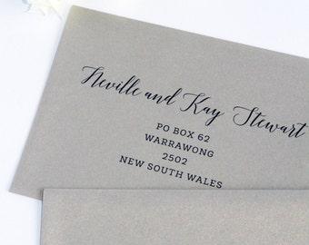Envelope Address Printing, Digital files or printed envelopes
