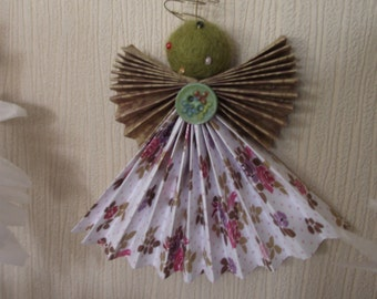 Recycled Paper Angel