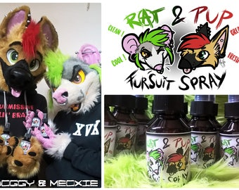 Rat & Pup Fursuit Spray (Scent + Disinfection) 100 or 250 mL