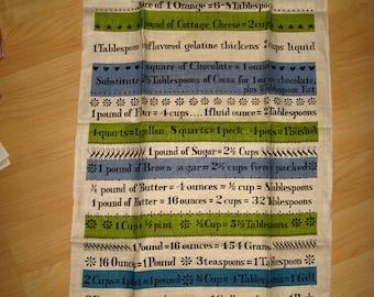 Lois Long Vintage Tea Towel - Vintage Mid Century 1960's Linen Kay Dee Cloth