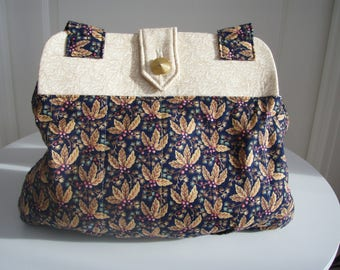 Premium fabric shoulder bag