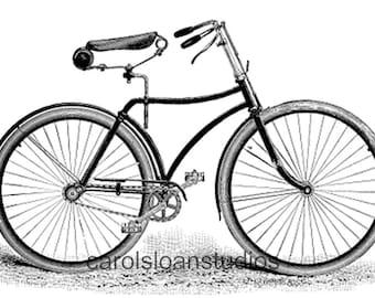 Thermofax Screen Vintage Bike