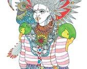 Poster Bird of Paradise I...
