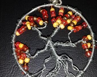 Fall Tree of Life Pendant