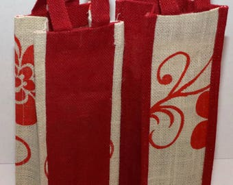 Wine Bags Jute Burlap Bag