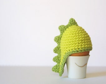 Dino Egg Cozy, Egg Cozy Crochet Pattern, PDF,  Easter, Instant Download,