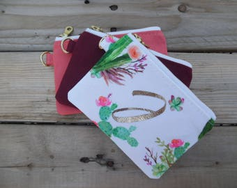 Personalized coin/credit card pouch