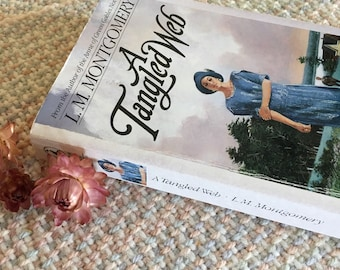 A Tangled Web by LM Montgomery, vintage book, writer of Anne of Green Gables