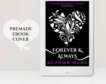 Premade eBook Cover - eReader Cover - Young Adult eBook Cover - Women's Cover - Romance eBook Cover - Heart eBook Cover - YA Cover
