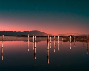 Reflect the Night - Art Print