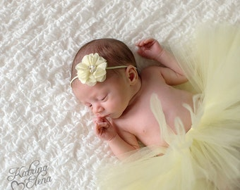 Rhinestone and Pearl Flower Headband Pink Hot Pink Pale Yellow White Lavender