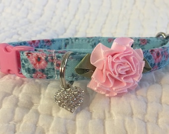Shabby Chic  cat collar breakaway