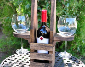 Table Top Wine Caddy
