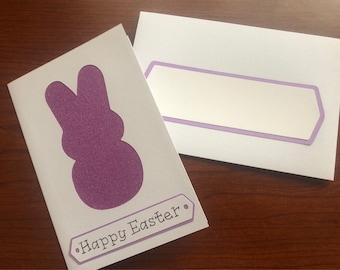 Sugar Peeps Easter Card