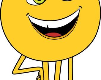 The Emoji Movie.Svg.Dfx.Eps.Pdf.Png.