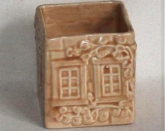 Vintage 1940's Price Kensington Old Cottage Ware Sugar Bowl