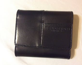 Genuine Black Leather Wallet by Reaction Kenneth Cole