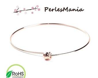 PAX 2 Bracelets Bangle with ball ROSE Gold 6.5 cm S1195580