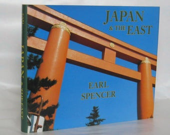Japan and the East. Earl Spencer. Signed. 1st Edition.