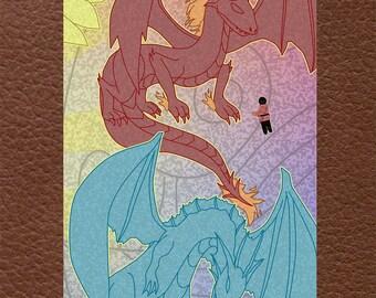 The Dragon Pillars: Water & Fire