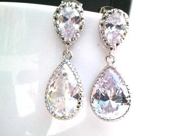 Wedding Jewelry, Bridal Jewelry Bridesmaid Gift  Wedding Earrings , Drop, Dangle, Stud Earrings, cocktail jewelry,GIFT