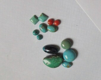 Mixed Turquoise Parcel for Students and OOAK Pieces