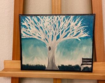 Tree Hugger Painting