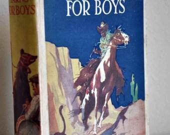 Book, Rattling Yarns for Boys circa 1930's