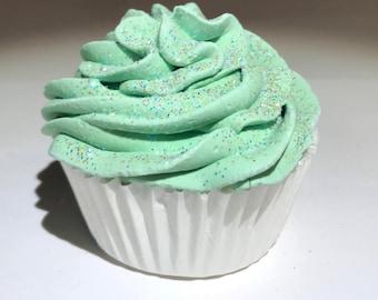 Peppermint Cupcake Bath Bomb