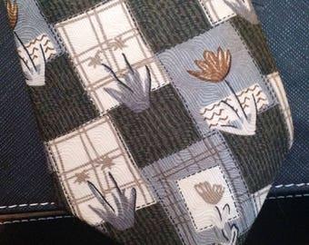 Pierre Cardin - Vintage Necktie - Abstract Print - Free U.S. Shipping