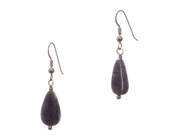 Sodalite and Sterling - Can't Help How I Feel but Can Control How I Act... - Free US shipping