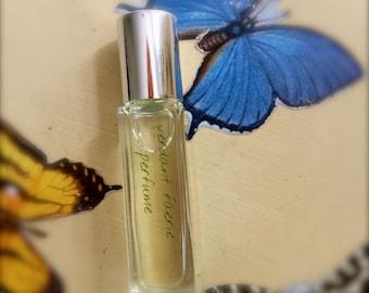 Butterfly Aromatherapy Natural Perfume, Vegan Cruelty Free Body Scent, Wanderlust Botanical Perfume