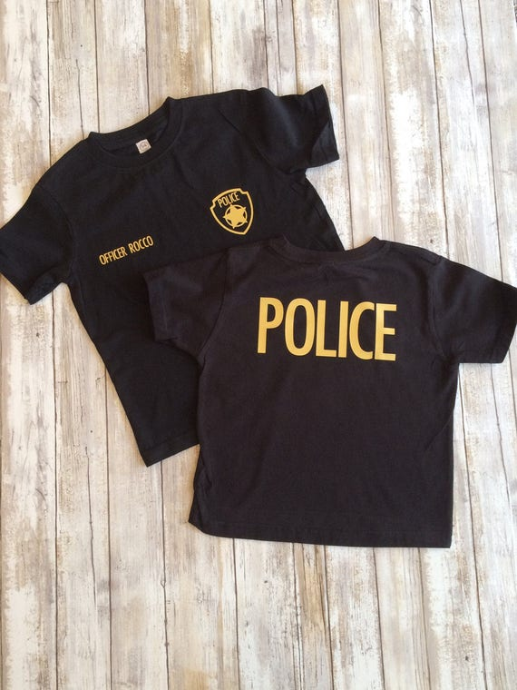 Police Shirt Personalized Police Shirt Police Officer Shirt