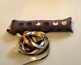 Kitty Kicker -  Purple and Gold