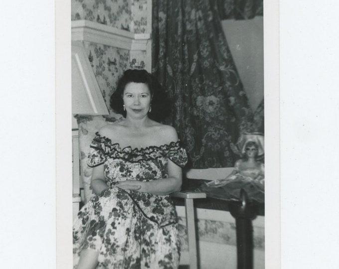 Vintage Snapshot Photo: Patterns [84662]