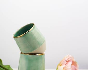 "Handmade Ceramic Cup | ""Lush"""
